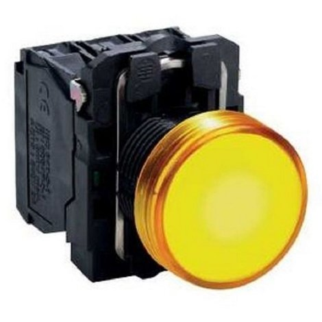 Telemecanique XB5AVB5 - Harmony voyant rond Ø22 - IP66 - LED intégrée - 24V