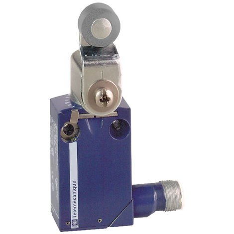 Telemecanique XCMD2116C12 Metal Roller Lever NC+NO Snap M12 Limit Switch