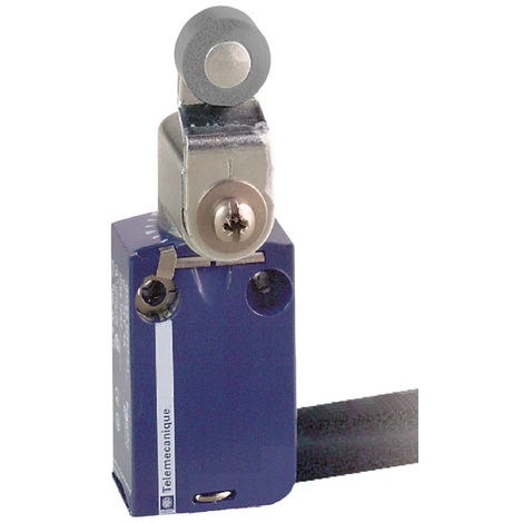 Telemecanique XCMD2116L1 Metal Roller Lever NC+NO Snap 1M cable Limit Switch
