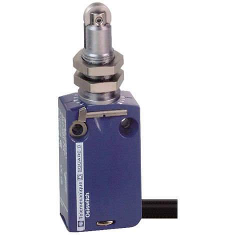 Telemecanique XCMD21F2L1 Metal Roller Plunger NC+NO Snap M12 Limit Switch