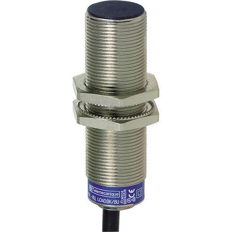 Telemecanique XS1M18MB250 5mm M18 2M Cable Brass Inductive Proximity Sensor