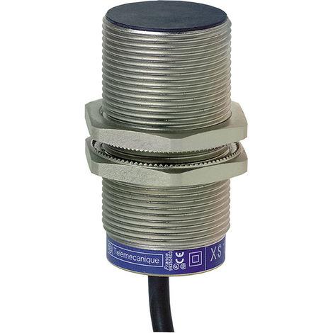 Telemecanique XS1M30KP340 10mm M30 2M Cable Brass Inductive Proximity Sensor