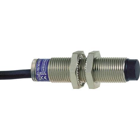 Telemecanique XS612B4PAL2 7mm M12 2M Cable Brass Inductive Proximity Sensor