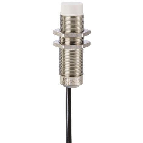 Telemecanique XS618B1NAL2 8mm M18 2M Cable Brass Inductive Proximity Sensor