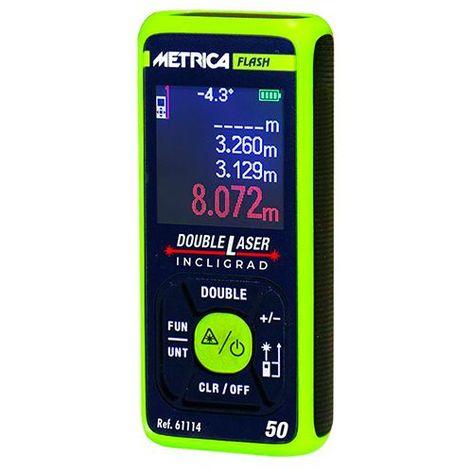 Télémètre double laser flash Incligrad 50