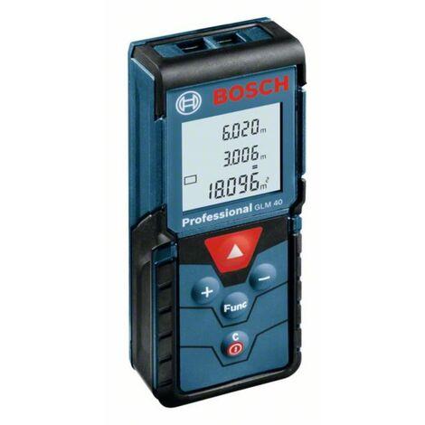 Télémètre laser de portée GLM40 BOSCH 40m - 0601072900