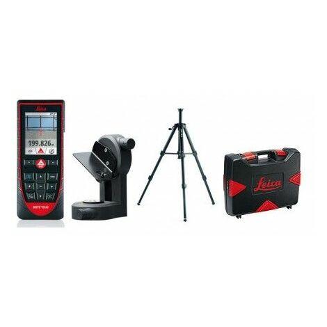 Télémètre Laser Extérieur Leica Disto D510 Pack Avec Trépied, Adaptateur Et Valise