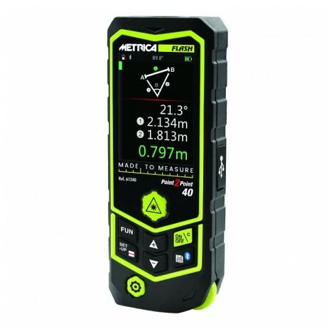 Télémètre Laser Flash P2p 40 Metrica