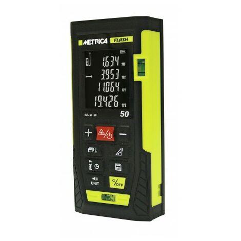 Télémètre Laser Intérieur Professionnel Metrica Flash 50