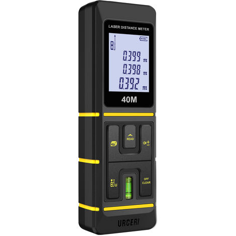 Télémètre Laser Numérique 60m Measure Laser - URCERI Z1