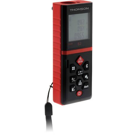 Télémètre laser numérique livré avec sacoche - Thomson