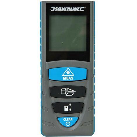 Telemetre Laser NumeriqueMetre Laser SILVERLINE 727787