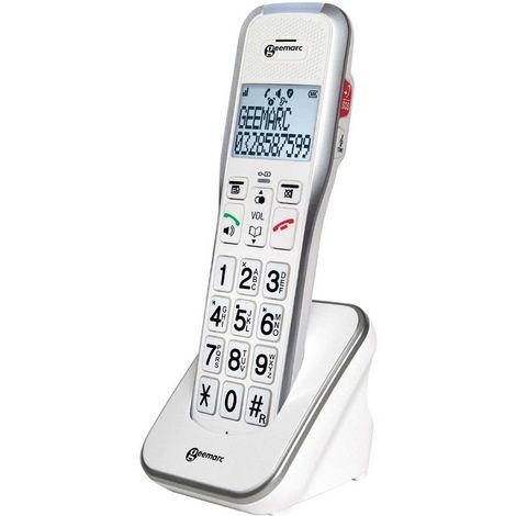 Téléphone Fixe Additionnel Amplidect 595 U.L.E - Blanc