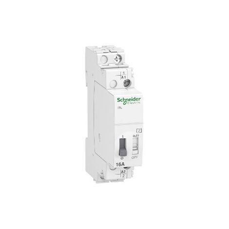 Telerruptor modular Schneider ElectricA9C30811 ITL 1P 16A 230VCA 110VCC