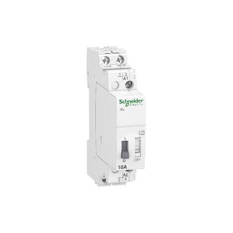 Telerruptor modular Schneider ElectricA9C30812 ITL 2P 16A 230VCA 110VCC