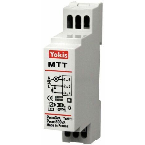 """main image of """"Telerruptor temporizado cableado Yokis By Golmar MTT500M"""""""