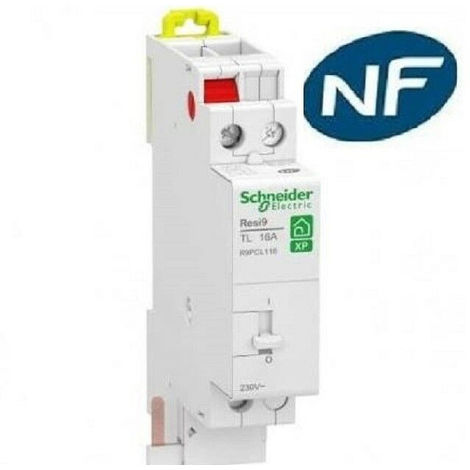 Télérupteur 1 pole - 16A - resi9 - xp - Schneider R9PCL116