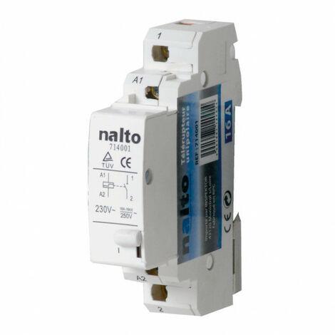 Télérupteur électromécanique 16A 1NO monophasé NALTO