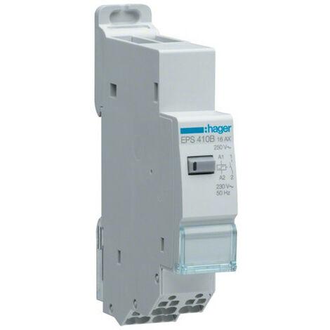Télérupteur électronique Sanvis silencieux - 1F - 230V - Hager