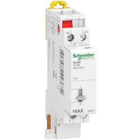 Télérupteur unipolaire 16 A Acti9 iDT40 TL