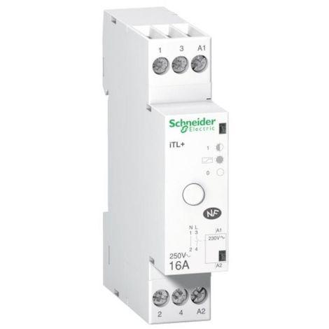 Télérupteur unipolaire silencieux 16A G15