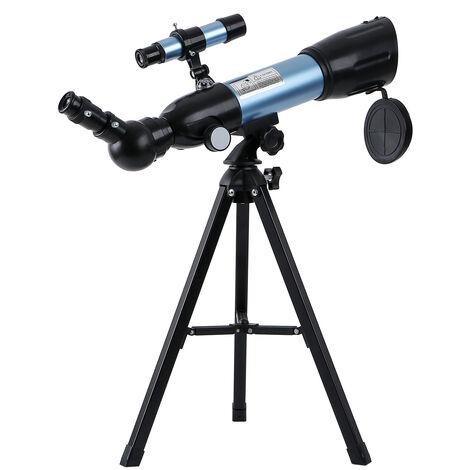 Telescope astronomique 90X Telescope monoculaire haute definition afort grossissement avec miroir de recherche 5 ¡Á 24 / boussole integree / trepied orange modele F36050G