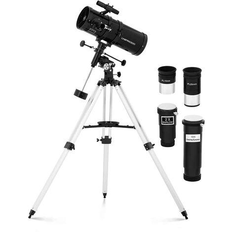 Télescope Avec 2 Oculaires Filtre Trépied Reflector Telescope 300x ø150mm 1400mm