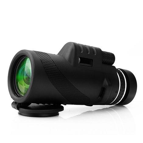 Télescope monoculaire optique optique de vision nocturne de jour de 40X60 HD Zoom Camping