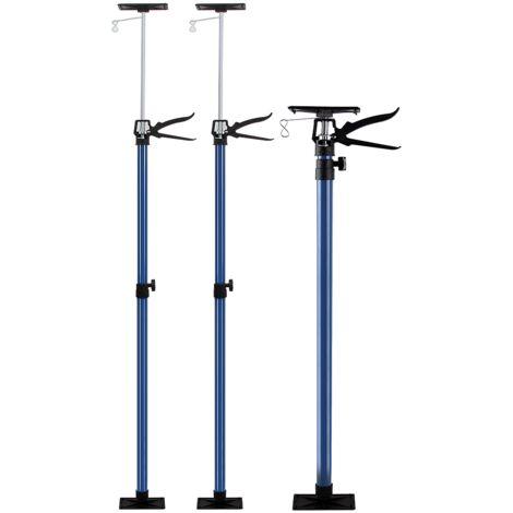 Telescopic Ceiling Props Building Strut 2x Set Adjustable Prop 115 - 290 cm