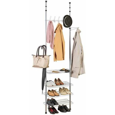 Telescopic clothes rack system Apollon WENKO