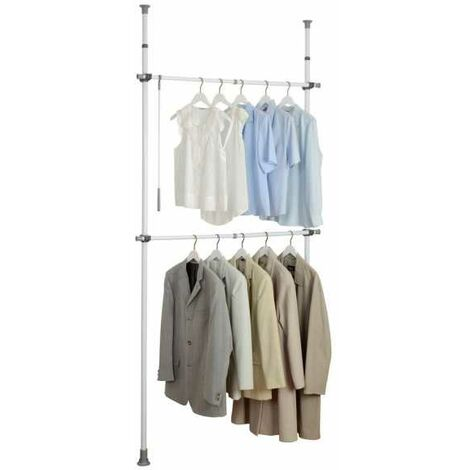 Telescopic clothes rack system Herkules Basic WENKO