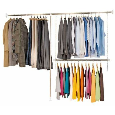 Telescopic clothes rack system WENKO