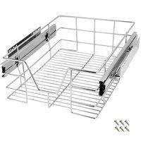 Telescopic Drawer Retrofit For 60 cm 50 cm 40 cm 30 cm Cabinets Stainless Steel