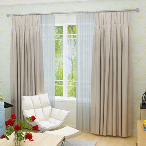 Telescopic Living Room Bedroom Curtain Rod