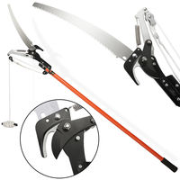 Telescopic Pruning Saw and Shears Tree Pruner Lopper 4 m