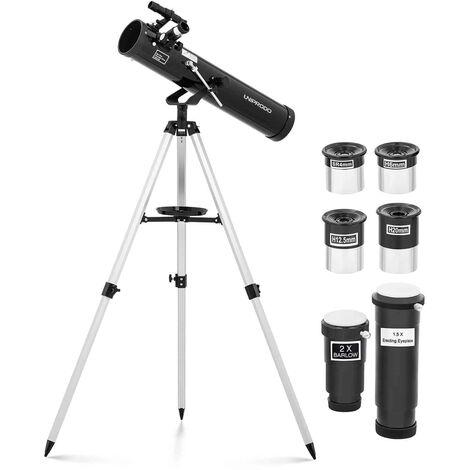 Telescopio Reflector De Espejo Astronomía Distancia Focal 700mm Objetivo Ø76 mm