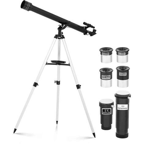 Telescopio Refractor Para Astronomía Con Distancia Focal 900mm Objetivo Ø60 mm