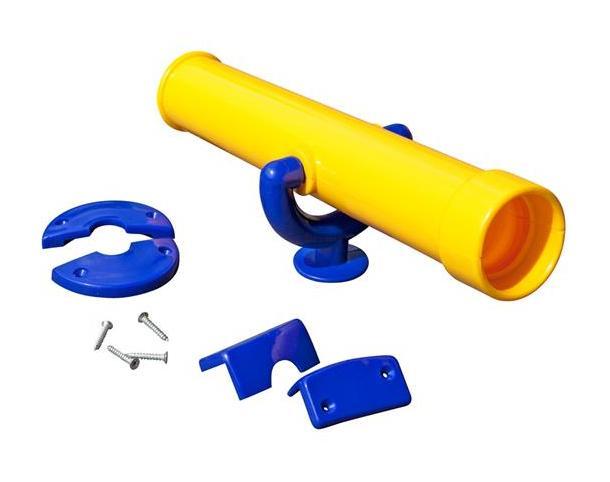 Teleskop fernrohr multi play gelb