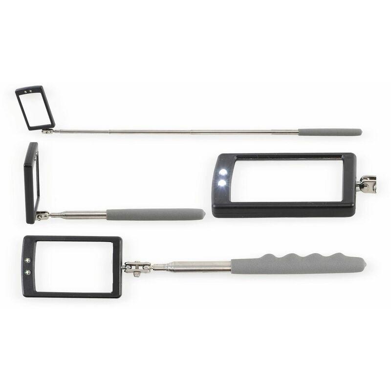 Hausmarke Suchspiegel 2-teilig Kunststoff 24 mm Durchmesser