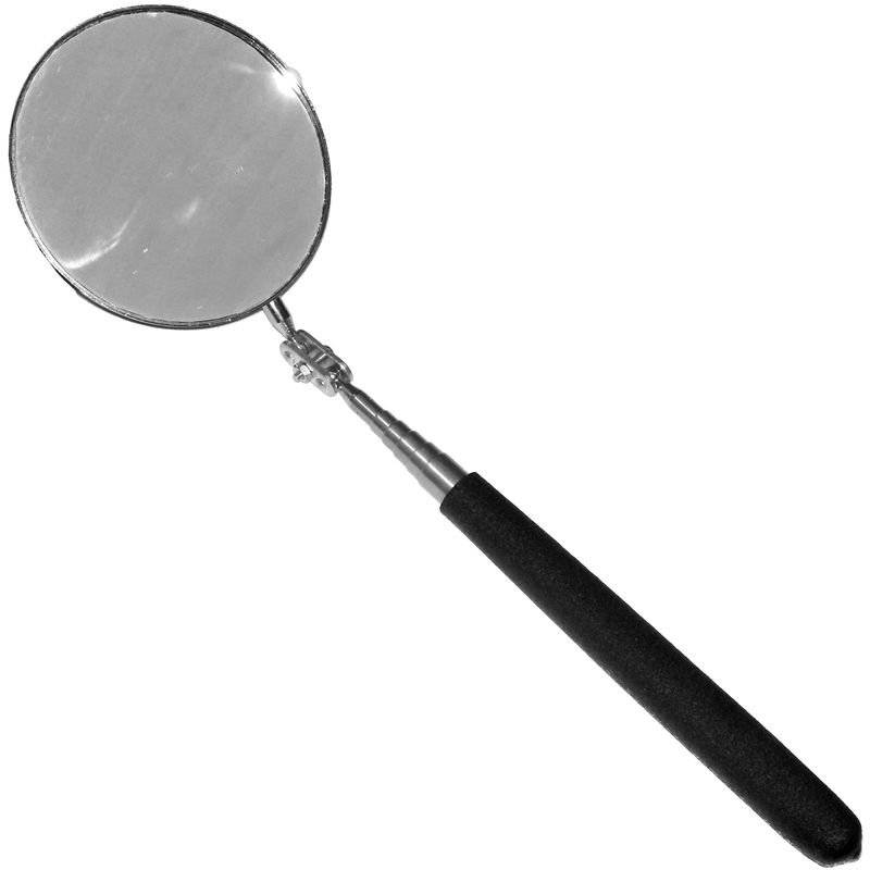Verwonderlijk Teleskop-Spiegel Ø 85 mm RUND Inspektionsspiegel 875 mm lang KFZ VE-23