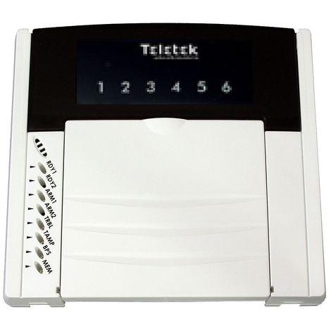 Teletek LED63 Remote keyboard LED for CA62 - 6 zones
