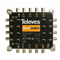 TELEVES Multiswitch 5x5x8 F Terminal/Cascadable