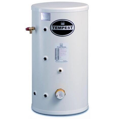 """main image of """"Telford Tempest 150 Litre Stainless Steel Direct Unvented Cylinder"""""""