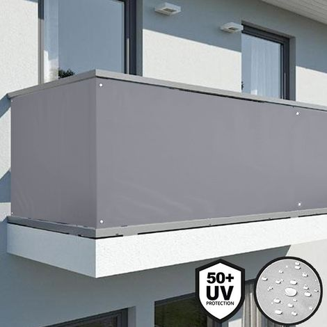 UISEBRT Recinzione frangivista in PVC per balconi giardini e terrazze