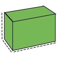 TELO di COPERTURA in PE per BARBECUE da Giardino PAPILLON 103X143X63CM