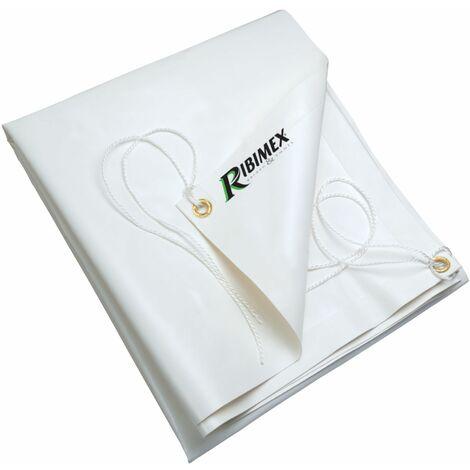 Telo protezione occhiellato con corda in pvc 650gr impermeabile telone piscina
