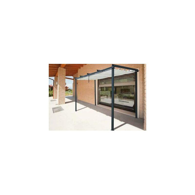 Telo ricambio per gazebo in metallo azores veranda mt3x4 gazebi arredo giardino