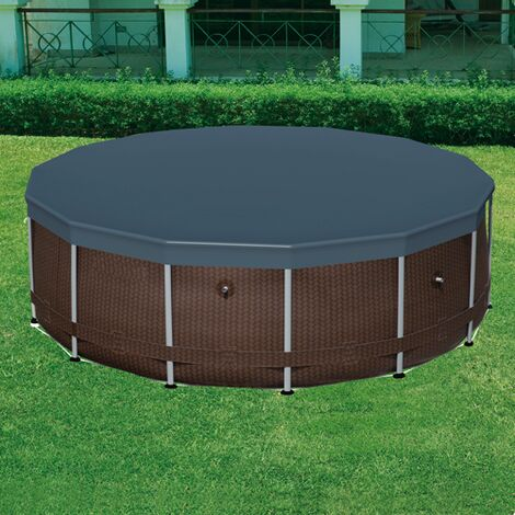 Telo termico piscina (58241) tonda rigida 305cm - cf. scatola