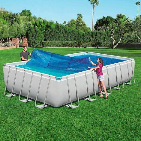 Telo termico superiore solare per piscina isolamento termico bestway 58228