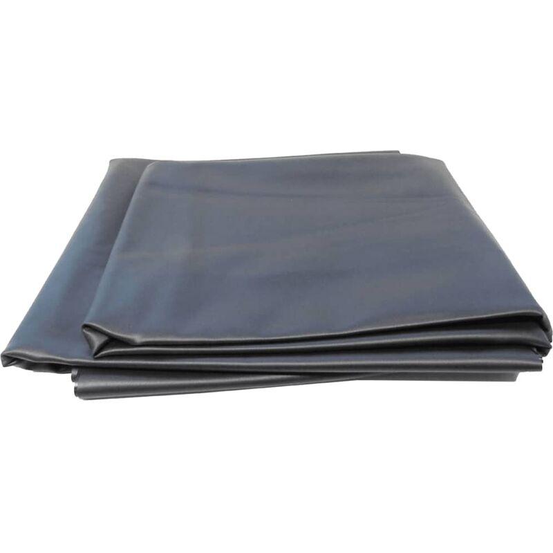 Ubbink Rivestimento Copertura Telo Pietre per Stagno Classic 5x0,6 m Grigio
